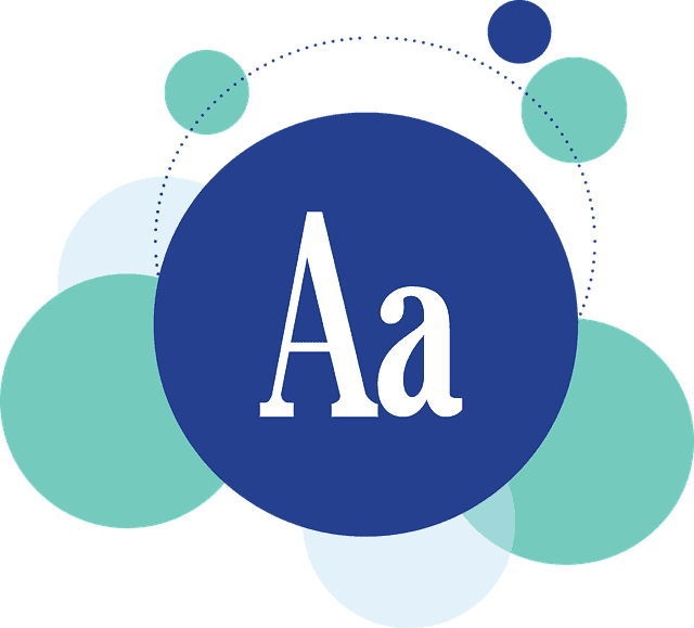 Website Font Design
