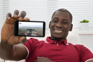 Man displaying REAL Ministries